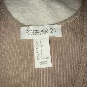 Forever 21 Other - Beige body suit